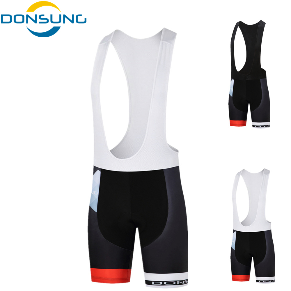 DONSUNG Coolmax Padded Cycling Shorts Shockproof MTB Bicycle Shorts Road Bike Shorts Ropa Ciclismo Tights For Man Women Ciclismo